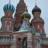 St. Basil Cathedral, famous for its special architecture